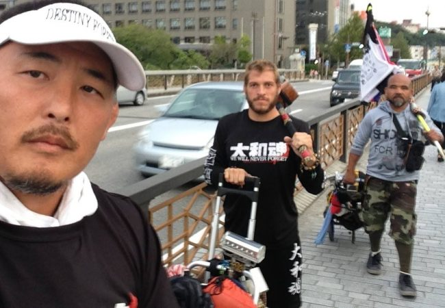 Raising awareness: a 1,360-mile journey for the 2011 tsunami victims