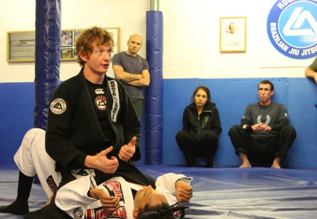 Kev Capel of GMA Roger Gracie Academy Buckinghamshire featured on podcast