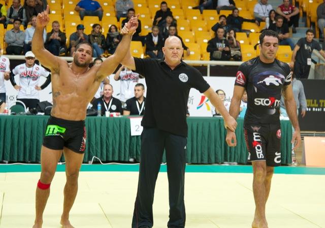 Andre Galvao x Braulio Estima na superluta do ADCC 2013 por Lamonica