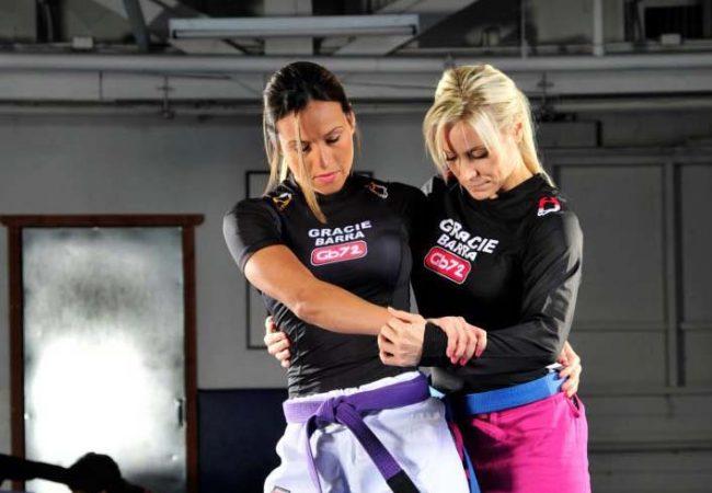 Carol Gracie ensina Jiu Jitsu e defesa pessoal na GB