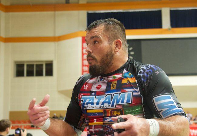 Dean Lister se apresenta para encarar Toquinho na Jiu-Jitsu Expo; Renzo comenta
