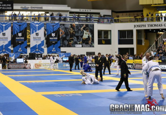 World Masters Jiu-Jitsu Championship announced for November 1-2