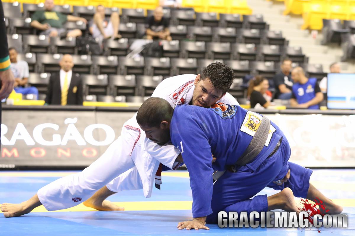 Ricardo Bastos wa sthe master open class champion