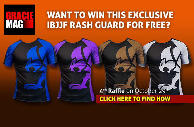 Don't miss the last chance to win one IBJJF rash guard. Register and join the raffle!