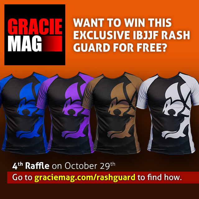 Meet the winners of the IBJJF rash guards!