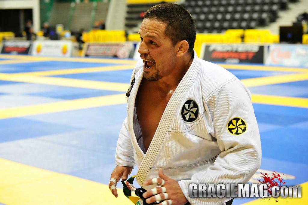Saulo deu show no Rio. Foto: GRACIEMAG