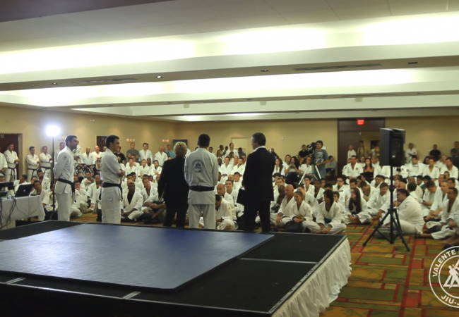 Video: Valente Brothers' celebration for 100 years of Helio Gracie highlight