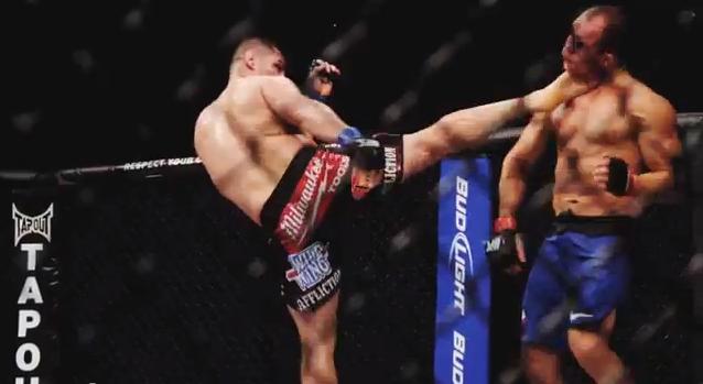 Joe Rogan ranks the greatest knockouts in UFC heavyweight history