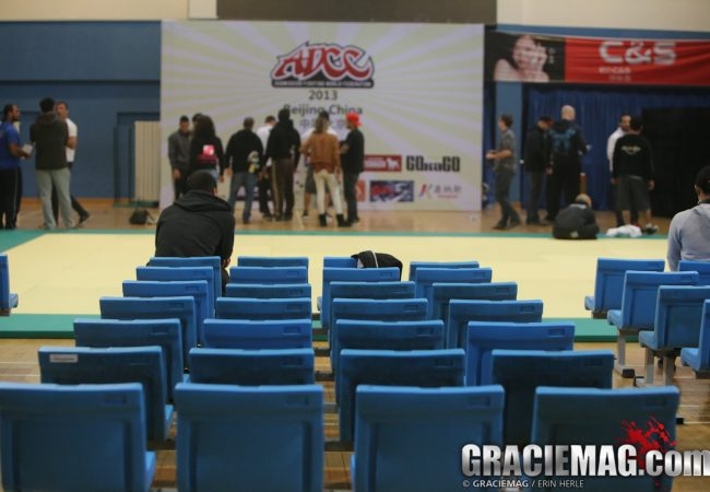 ADCC 2013: See photos of Beijing stage set for Saturday and athletes at weigh-ins