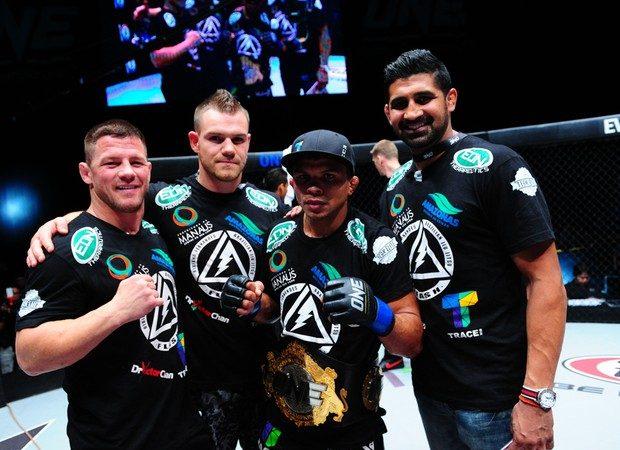 Campeão de Jiu-Jitsu, Bibiano Fernandes defende seu cinturão do ONE FC