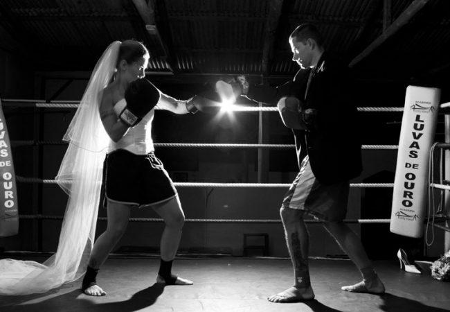 Casados, Ricardo e Aline Sattelmayer lutam na mesma noite em evento de MMA
