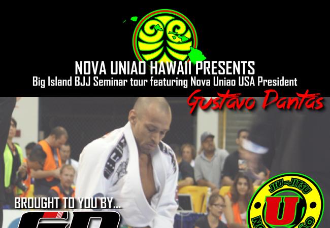 Hawaii, you have three chances to attend Gustavo Dantas' seminars late November