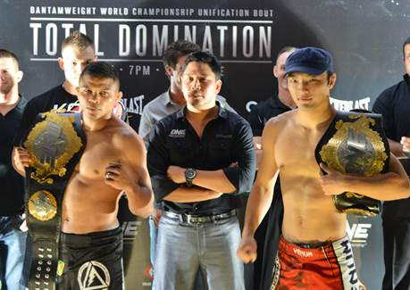 """ONE FC: Total Domination"" weigh-in results; all fighters hit the mark"