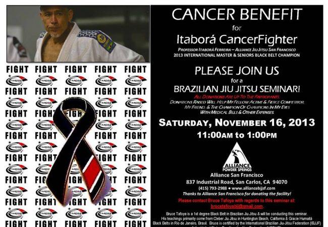 Alliance San Francisco seminar to support Itabora Ferreira's cancer battle on Nov. 16