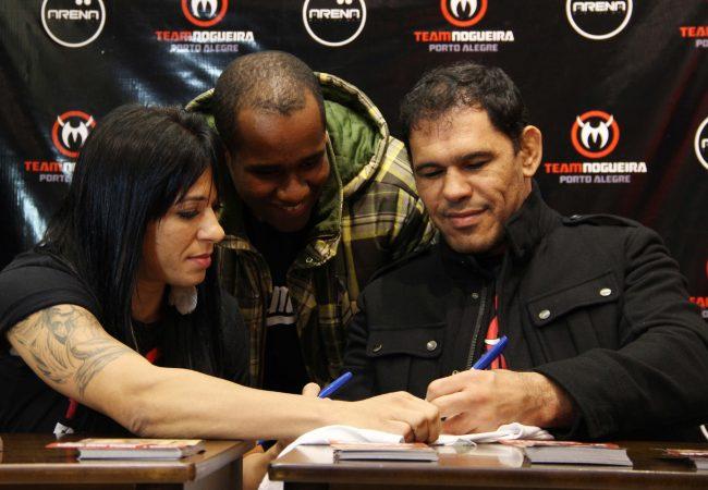 Com coquetel e apoio dos irmãos Nogueira, faculdade lança curso de MMA