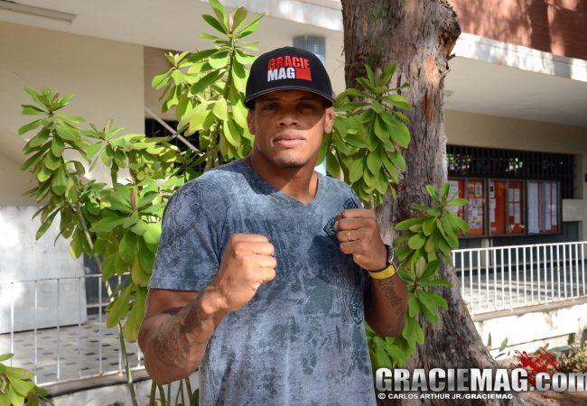 Estreante no UFC e capa de GRACIEMAG, Nuguette usa macetes do experiente Jacaré