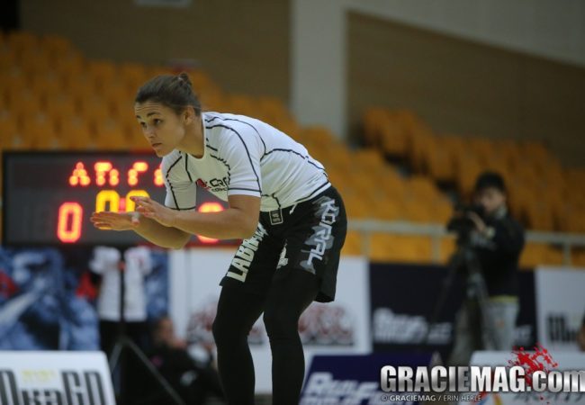 Celebrate Michelle Nicolini's birthday by watching her submit for first ADCC title
