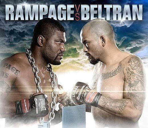 Rampage Jackson now faces Joey Beltran at Nov. 15 Bellator