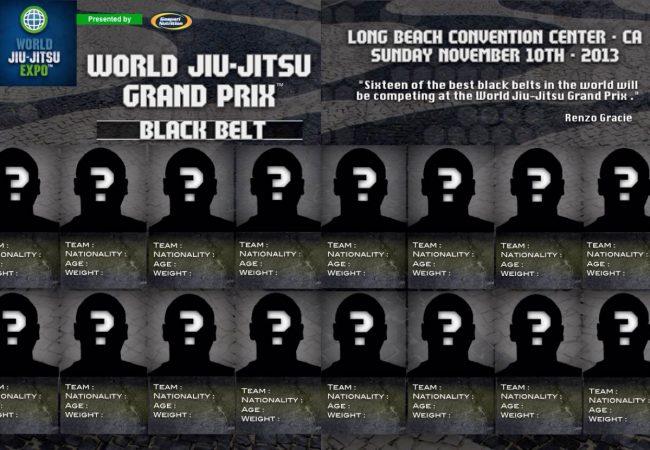 World Jiu-Jitsu Expo: Eight black belts still wanted for GP