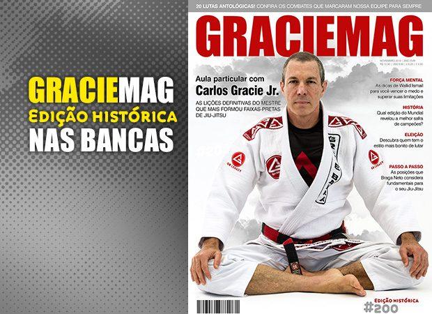 Uma aula particular de Jiu-Jitsu, saúde e alimentação com Carlos Gracie Jr.