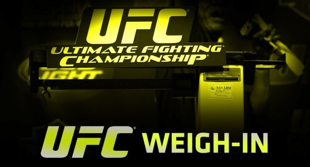 UFC 167: watch the official weigh in live from Vegas