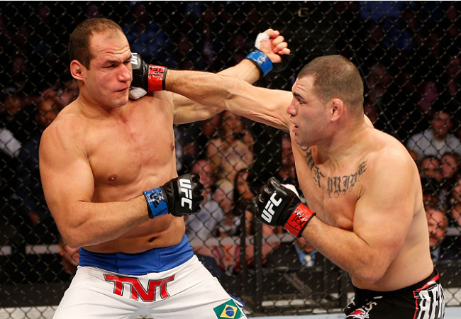 "Watch UFC 166's best highlights in slow motion with the ""phantom cam"""