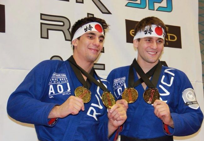 Video: Mendes bros submit their way to double gold at Rickson Cup 2013 in Tokyo