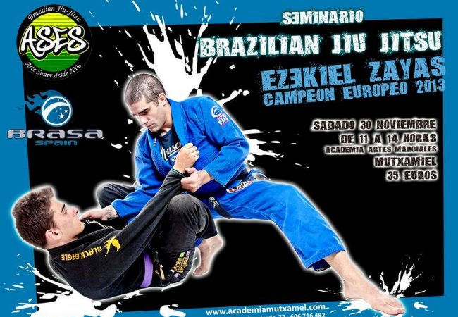 Ezekiel Zayas seminar at Academia Mutxamel in Spain on Nov. 30!