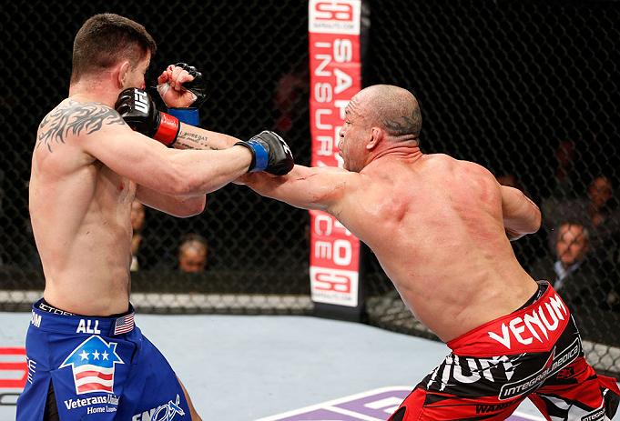 Wanderlei atuou pela ultima vez no Japão, nocauteando Brian Stann. Foto: UFC/Divulgação