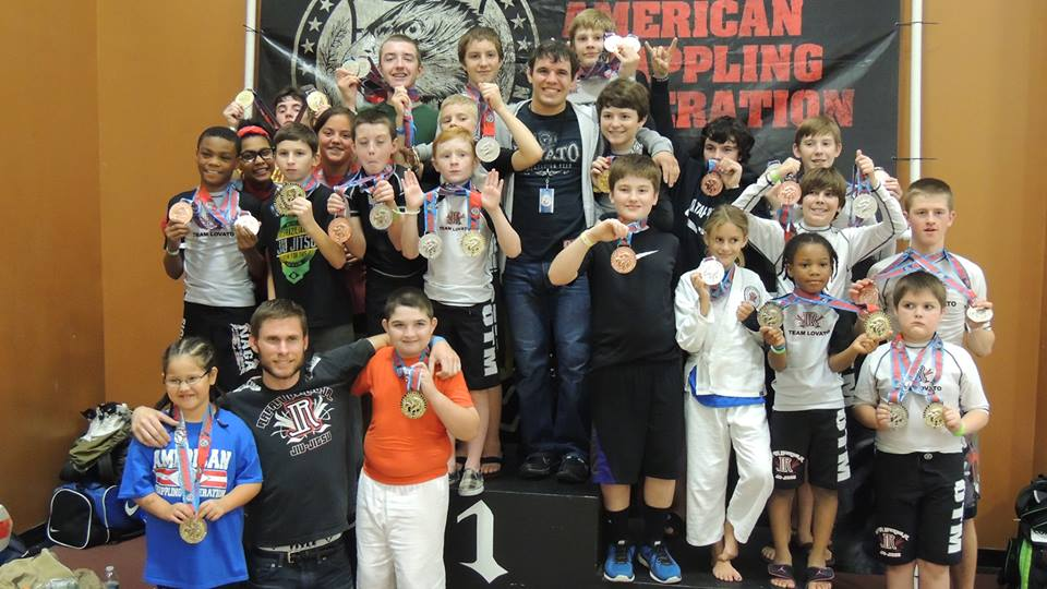 Team Lovato at the AGF tournament in Oklahoma City on Nov. 16. Photo: Personal Archive