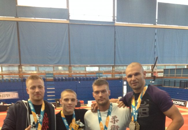 GMA Choke Academy sends team of four to IBJJF London Open and earns five medals