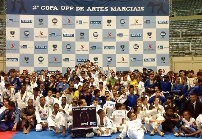 Governo do Rio apoia Jiu-Jitsu na Copa UPP de Artes Marciais