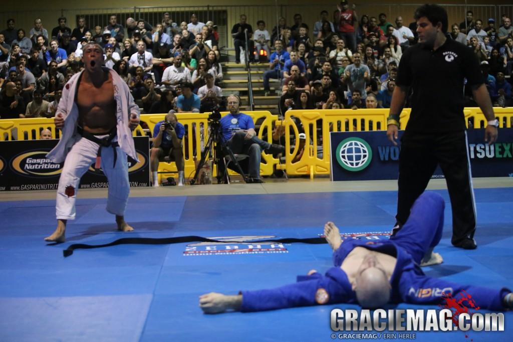 The World Jiu-Jitsu Expo brown/black grand prix on Nov. 10 in Long Beach. Photo: Erin Herle