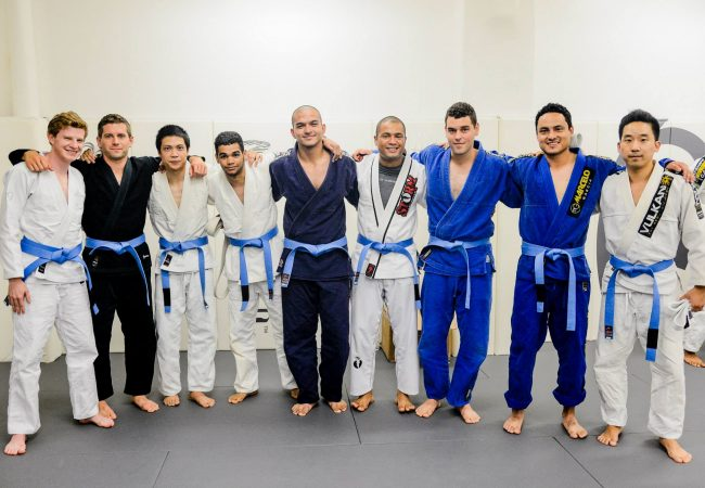 A BJJ blue-belt is a white-belt who…