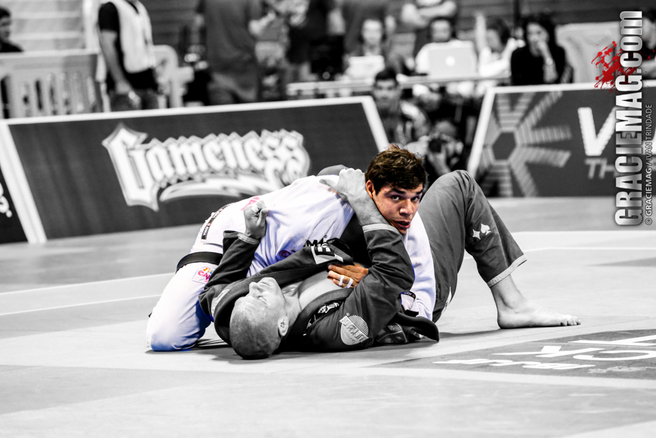 João Gabriel Rocha in action at the 2013 Worlds