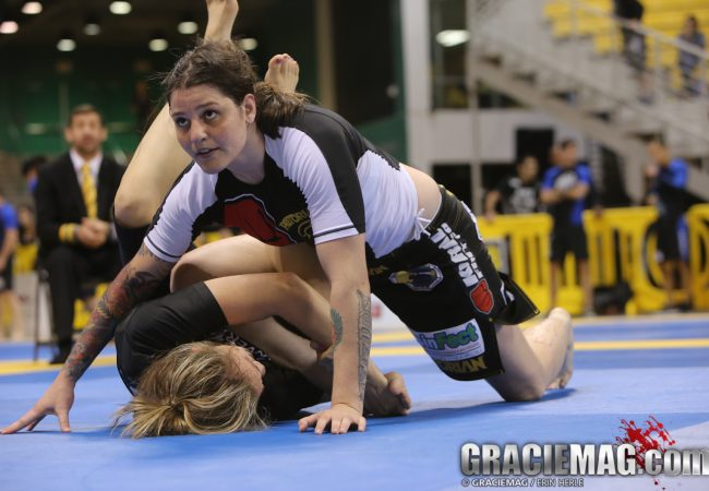 Worlds No-Gi: See how the females determined the black belt absolute final