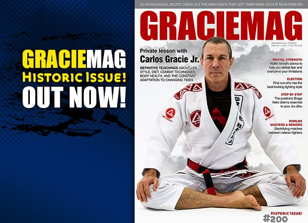 GM #200:  A private lesson in Jiu-Jitsu, health and nutrition with Carlos Gracie Jr.