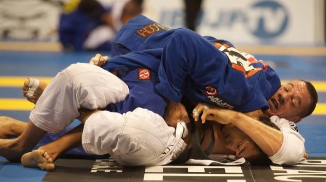 Estude com Rominho Barral x Rafael Lovato, no Pan de Jiu-Jitsu 2007