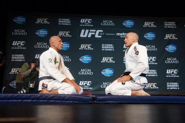 UFC 167: o treino de Jiu-Jitsu de GSP com Royce Gracie para defesa do cinturão