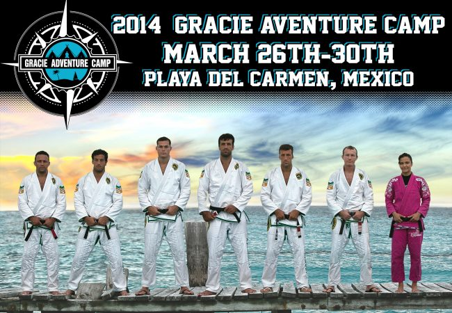 Get to Mexico in March to train under seven Gracie family members in paradise!