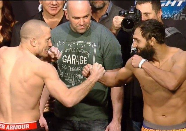 UFC 167: Quick results