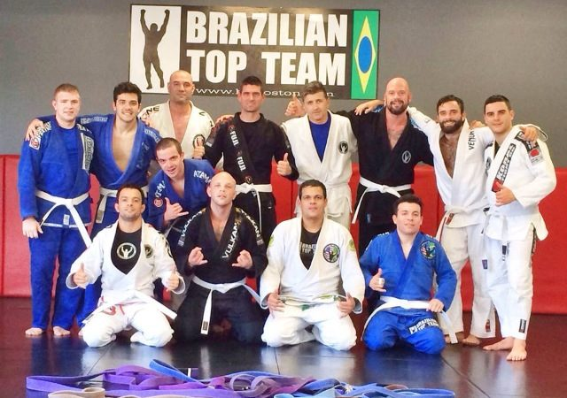 "Bruno Amaral of GMA BTT Boston brings new meaning to ""train like a white belt"""