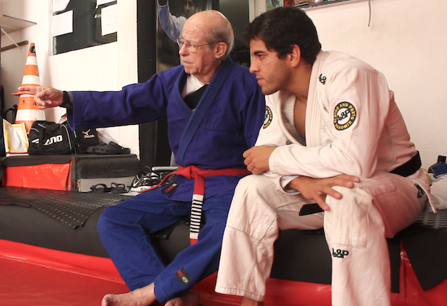 Video: remember red belt Renato Paquet, who passed away this week