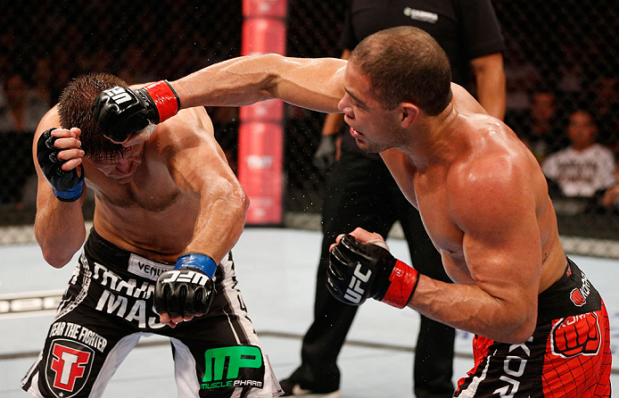 Thales tem a missão de representar o Brasil no UFC 167. Foto: UFC/Divulgação