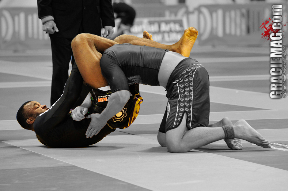 Jackson Souza in action at the 2013 Worlds No-Gi