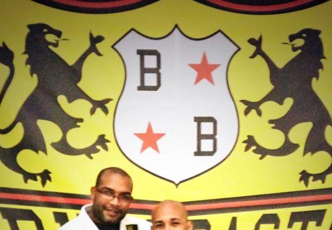 Danny Alvarez of Alvarez BJJ receives second degree from Bruno Bastos