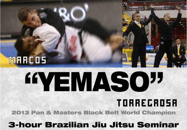 Marcos Torregrosa of GMA Yemaso Jiu-Jitsu seminar in Virginia on Jan. 11