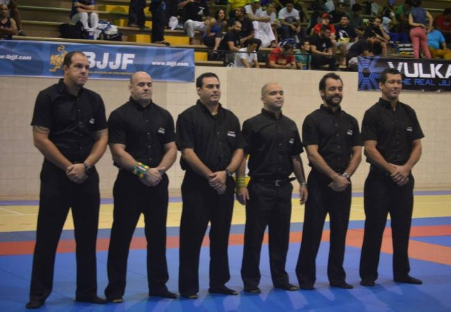 Referee crew at the Panama Open