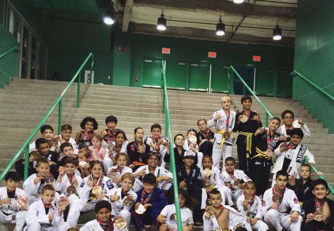 Art of Jiu-Jitsu Academy wins SJJIF Kids Worlds with stand-out performances