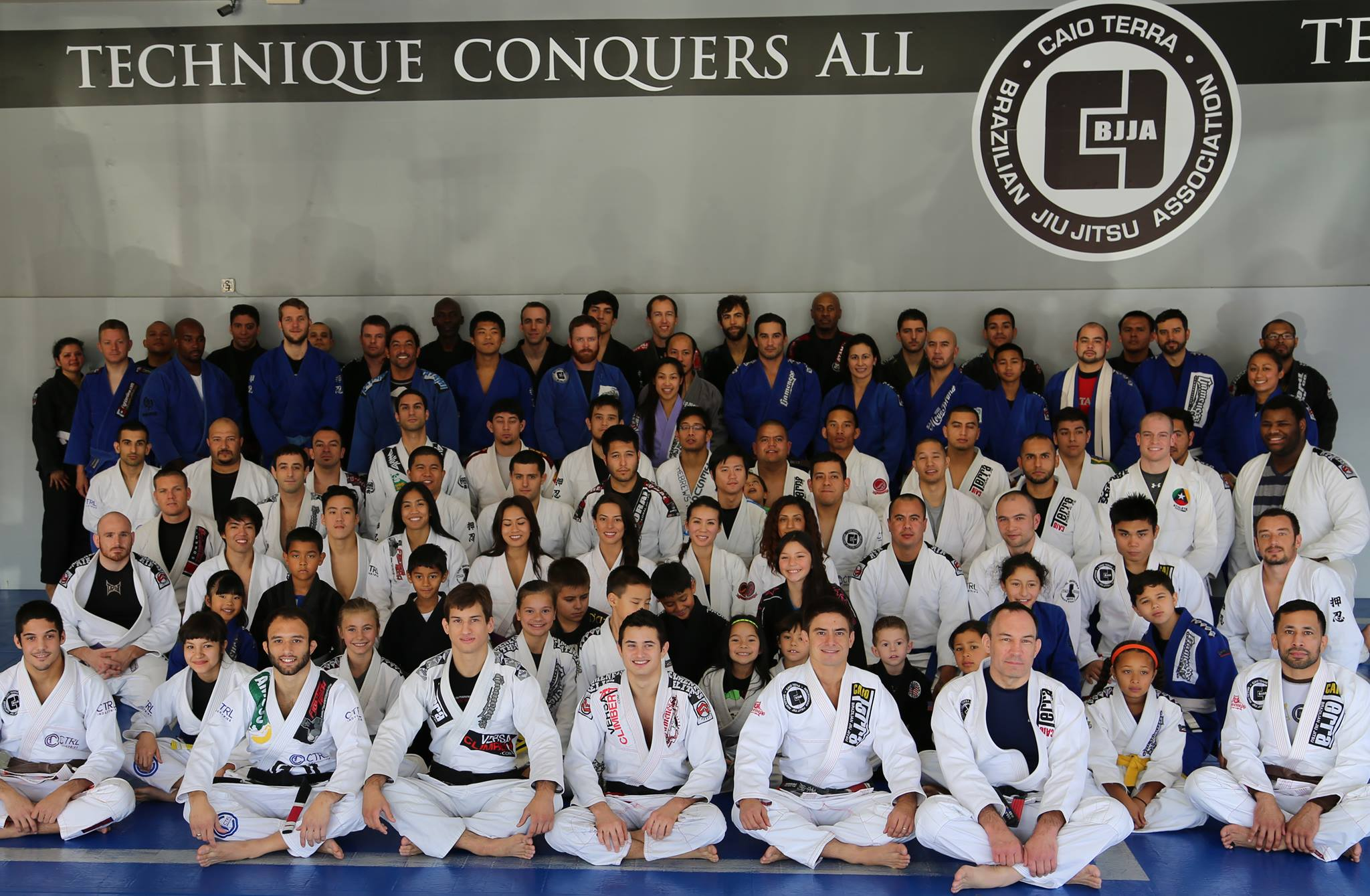 The students and instructors of GMA Institute of Martial Arts gathered for a belt ceremony and end of year celebration on Saturday, Dec. 7. Photo: Personal Archive